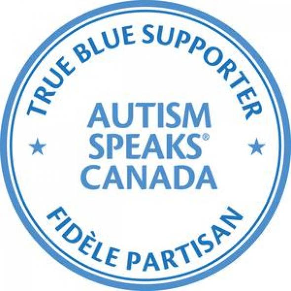 Autism Speaks Canada True Blue Supporter