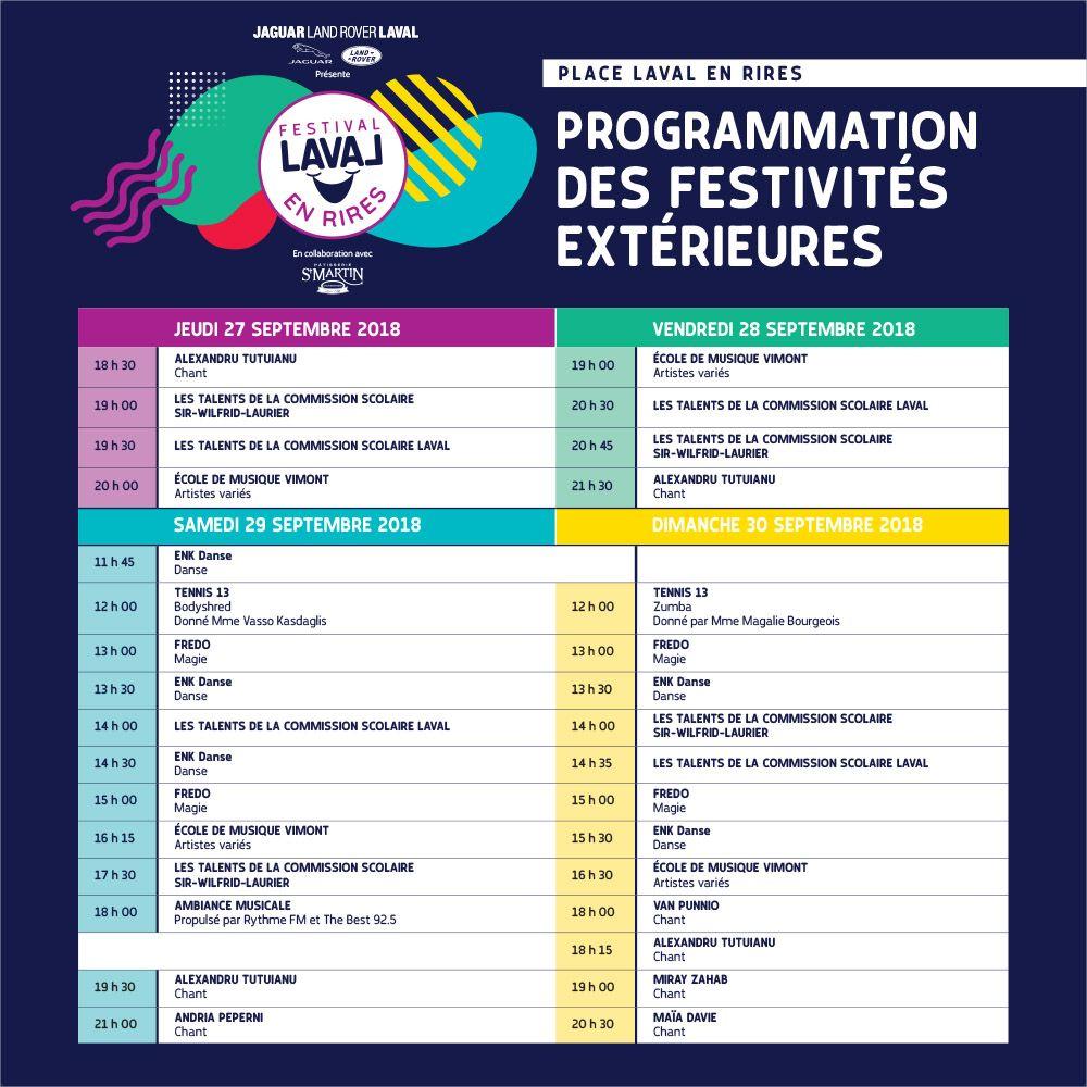 Place Laval en Rires - Festivités extérieures gratuites !