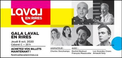 Gala Laval en Rires 2020
